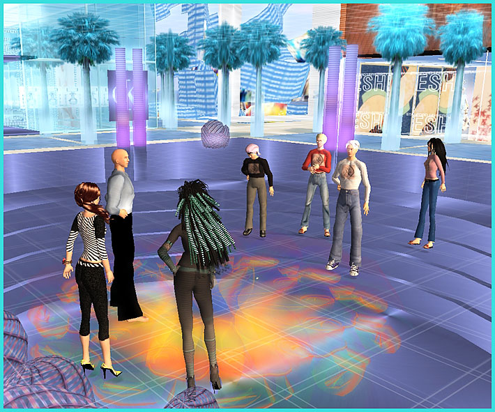 Second Life Salon